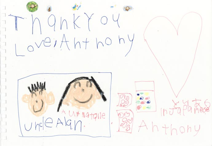Thank You Aunt Natalie and Uncle Alan -- http://regex.info/blog/
