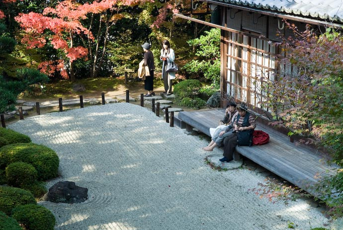 Dipping One's Feet into the Cool of a Rock Garden -- Kyoto, Japan -- Copyright 2006 Jeffrey Eric Francis Friedl, http://regex.info/blog/