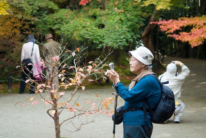 Everyone's a Photographer -- Kyoto, Japan -- Copyright 2006 Jeffrey Eric Francis Friedl, http://regex.info/blog/