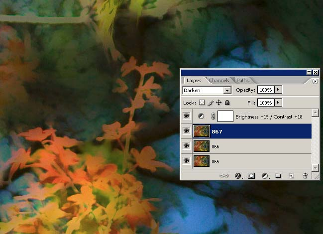 Photoshop layers dialog showing how this image was made