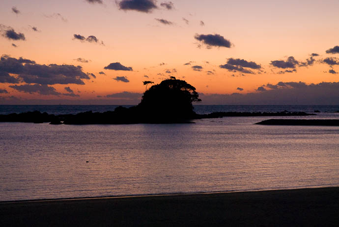 25 Minutes After Sunset -- Shima, Mie, Japan -- Copyright 2006 Jeffrey Eric Francis Friedl