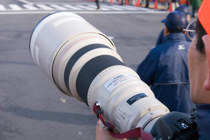 Canon EF 400mm f/2.8 L II -- Kyoto, Japan -- Copyright 2007 Jeffrey Eric Francis Friedl, http://regex.info/blog/