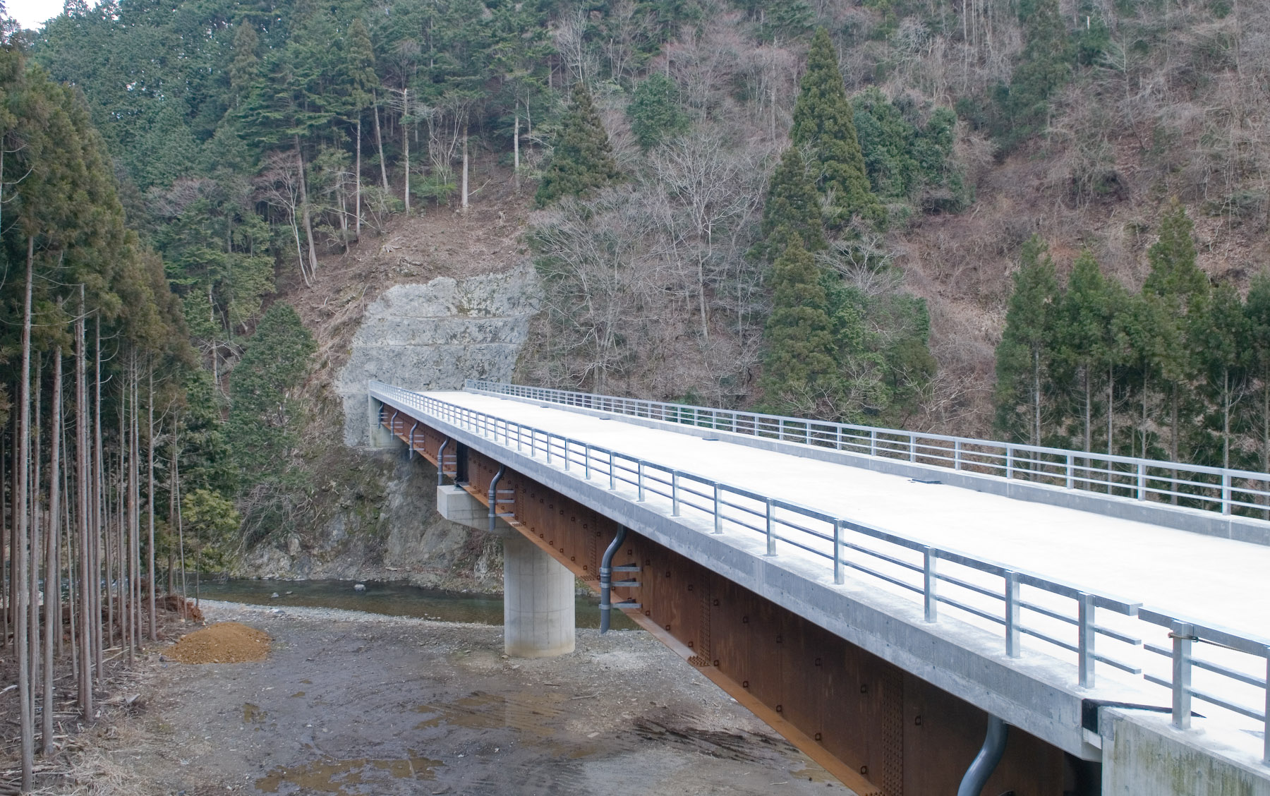Highway Bridge To Nowhere Stock Photo, Picture And Royalty Free ...