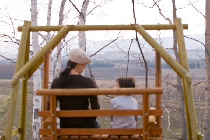 Together -- Biei, Hokkaido, Japan -- Copyright 2007 Jeffrey Eric Francis Friedl, http://regex.info/blog/