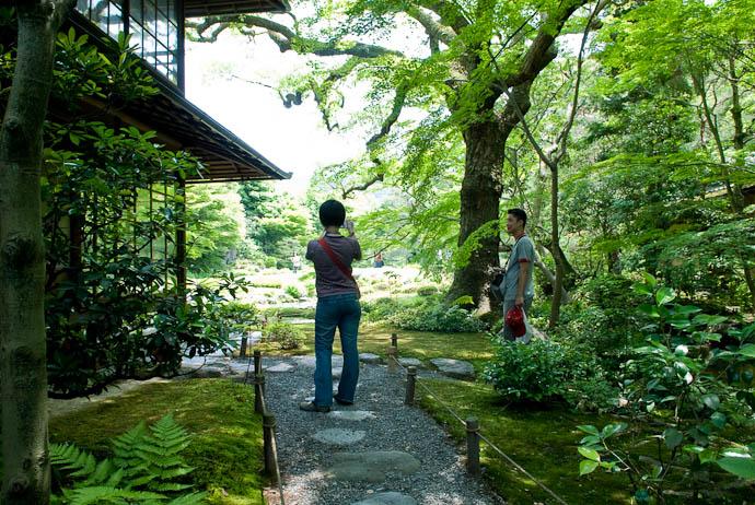 Just Inside Murin'an -- Kyoto, Japan -- Copyright 2007 Jeffrey Eric Francis Friedl, http://regex.info/blog/