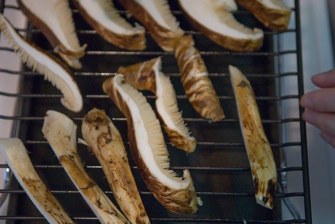 Huge Chunks of Matsutake -- Kyoto, Japan -- Copyright 2007 Jeffrey Eric Francis Friedl, http://regex.info/blog/