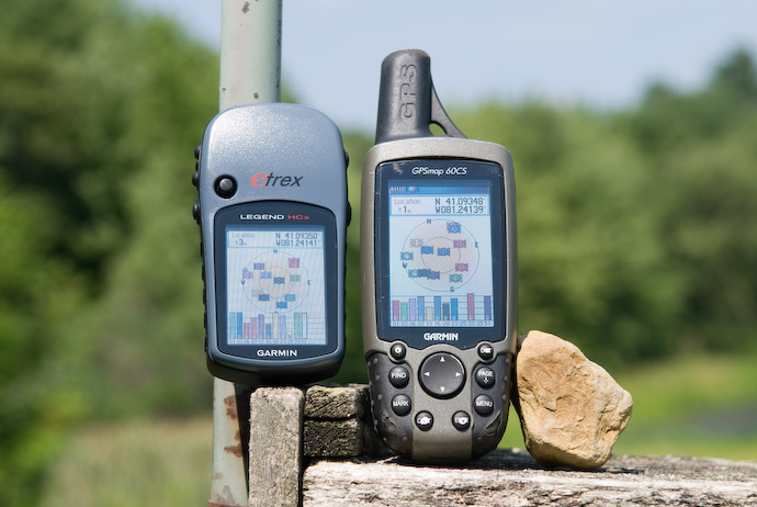 eTrex HCx and GPSmap 60CS -- Rootstown, Ohio, USA -- Copyright 2007 Jeffrey Eric Francis Friedl