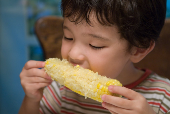 Fresh Corn Tastes Super Good Really, these were so good, I can't imagine that it's anything but downhill from here -- Rootstown, Ohio, USA -- Copyright 2007 Jeffrey Eric Francis Friedl