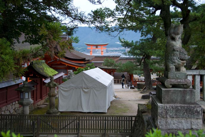View from the Back -- Miyajima, Hiroshima, Japan -- Copyright 2007 Jeffrey Eric Francis Friedl