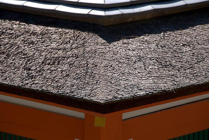 New Construction ( relatively speaking ) -- Miyajima, Hiroshima, Japan -- Copyright 2007 Jeffrey Eric Francis Friedl