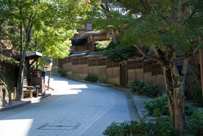 Road Leading to the Ropeway -- Miyajima, Hiroshima, Japan -- Copyright 2007 Jeffrey Eric Francis Friedl
