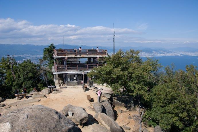 View From the Very Top -- Miyajima, Hiroshima, Japan -- Copyright 2007 Jeffrey Eric Francis Friedl