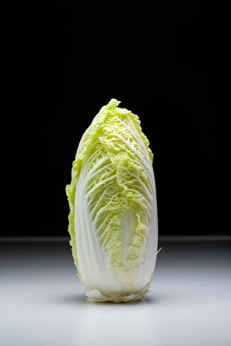 Chinese Cabbage in Fumie's Kitchen -- Kyoto, Japan -- Copyright 2007 Jeffrey Eric Francis Friedl, http://regex.info/blog/