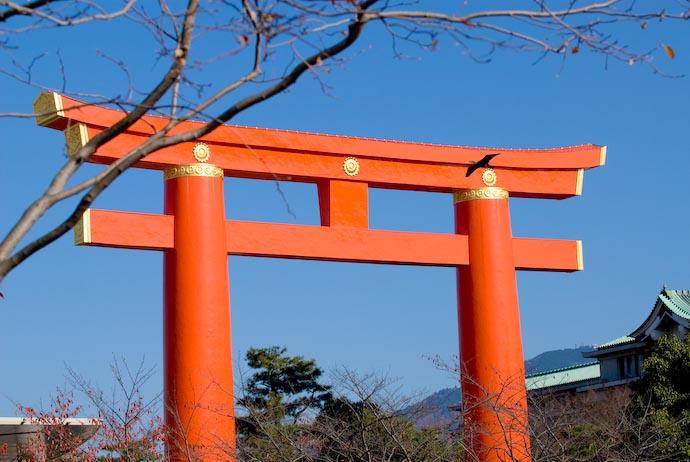 Crisp and Clear, Blazing Sunshine -- Kyoto, Japan -- Copyright 2007 Jeffrey Eric Francis Friedl, http://regex.info/blog/