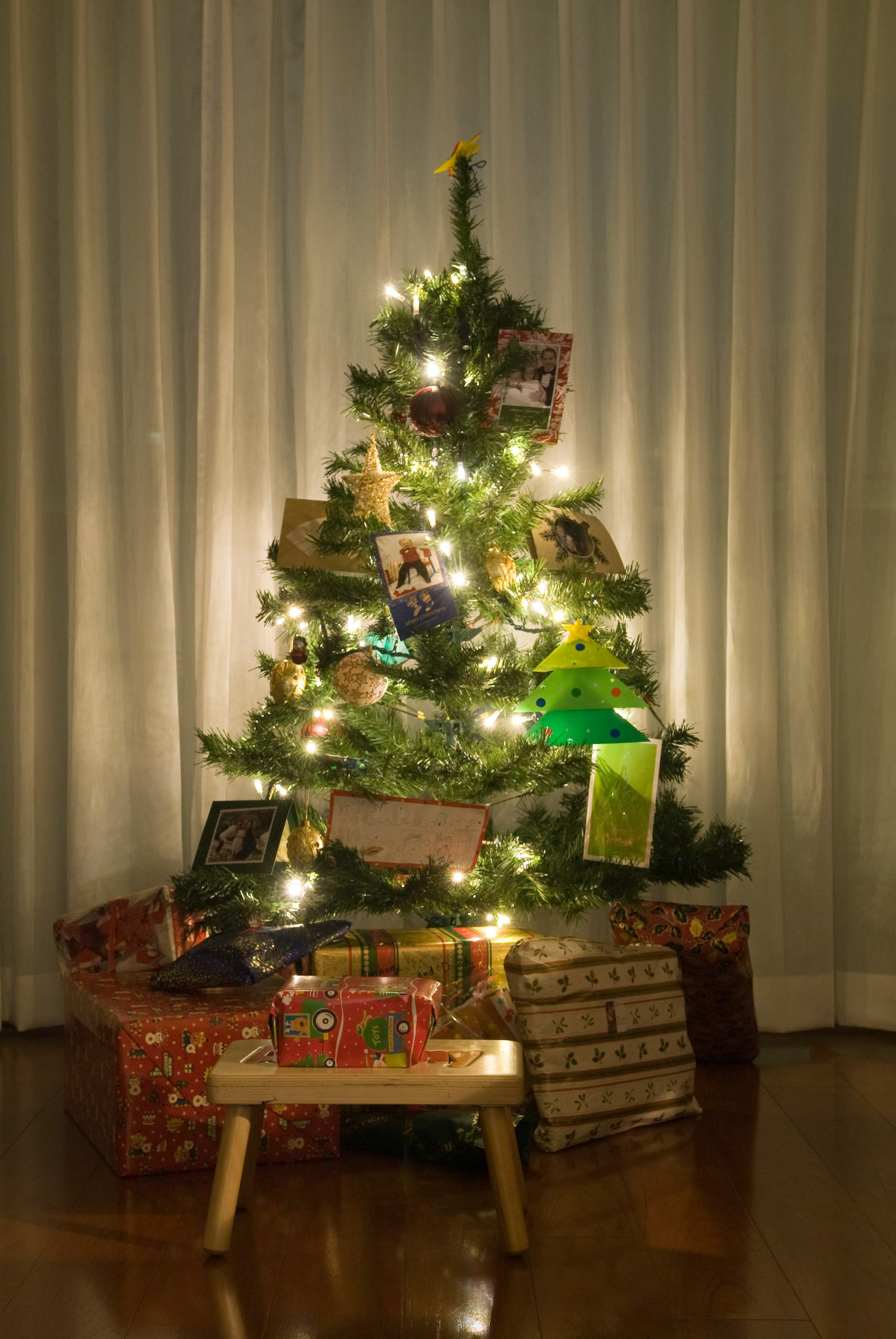 Jeffrey Friedl's Blog Our Christmas Tree Our Christmas - Japanese Christmas Tree