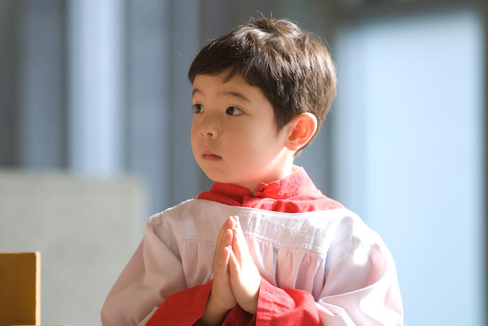 Anthony Serving his First Mass -- Kyoto, Japan -- Copyright 2008 Jeffrey Eric Francis Friedl, http://regex.info/blog/
