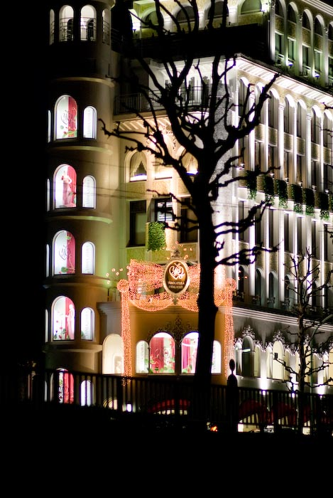 """Yumi Katsura Bridal House"" -- Roppongi, Tokyo, Japan -- Copyright 2008 Jeffrey Eric Francis Friedl, http://regex.info/blog/"