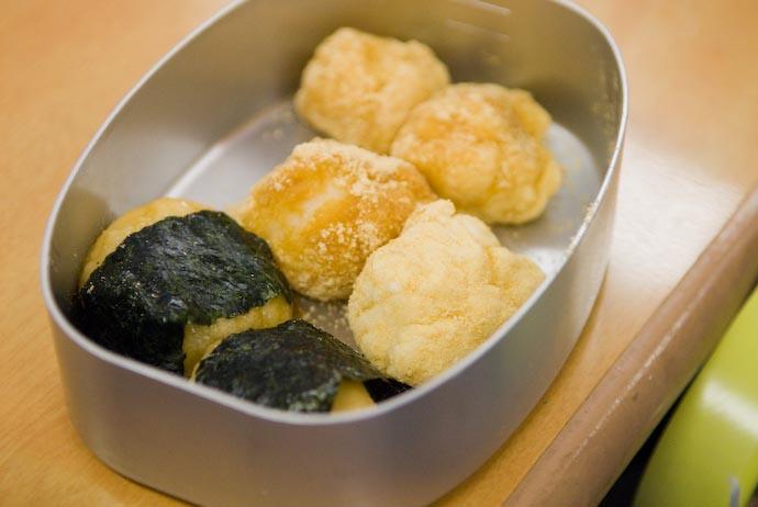 Bento Full of Mochi -- Kyoto, Japan -- Copyright 2008 Jeffrey Eric Francis Friedl, http://regex.info/blog/