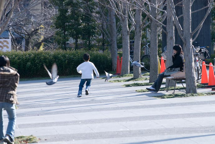 Some Kid Doing What Kids Do -- Kyoto, Japan -- Copyright 2008 Jeffrey Eric Francis Friedl