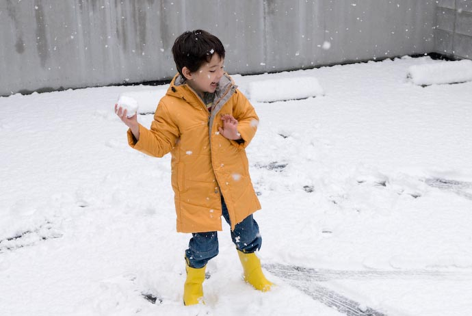 Snowball Fight.... -- Kyoto, Japan -- Copyright 2008 Jeffrey Eric Francis Friedl