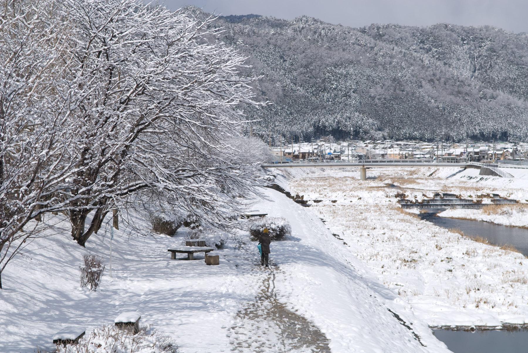 jeffrey friedl 39 s blog more snow in kyoto pretty. Black Bedroom Furniture Sets. Home Design Ideas