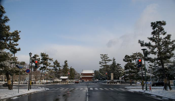 Clearing Skies -- Kyoto, Japan -- Copyright 2008 Jeffrey Eric Francis Friedl, http://regex.info/blog/