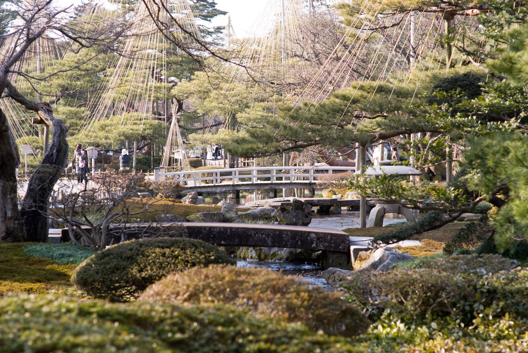 Japanese Garden Pictures Jeffrey Friedl S Blog 187 Out Of Season Kenrokuen Gardens