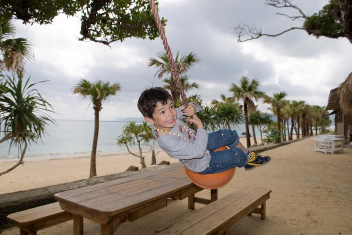 Holding on for Dear Life -- Amami Ooshima, Kagoshima, Japan -- Copyright 2008 Jeffrey Eric Francis Friedl