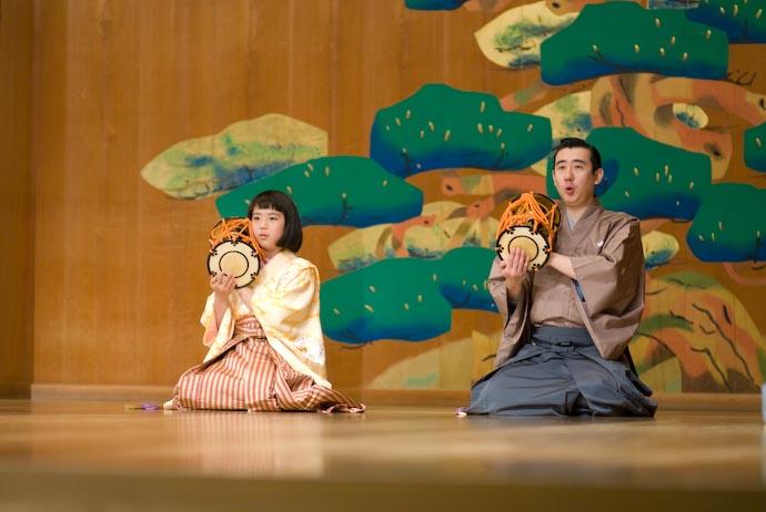 Riko-chan and Accompanist -- Kyoto, Japan -- Copyright 2008 Jeffrey Eric Francis Friedl, http://regex.info/blog/