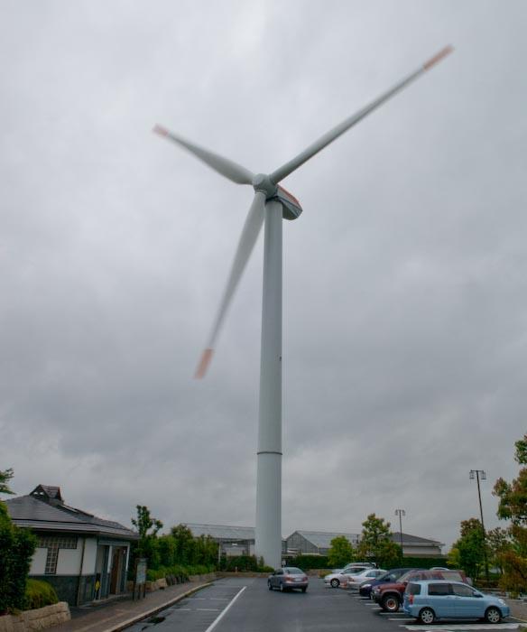 Fuhrlander MD70 Wind Turbine -- Kusatsu, Shiga, Japan -- Copyright 2008 Jeffrey Eric Francis Friedl