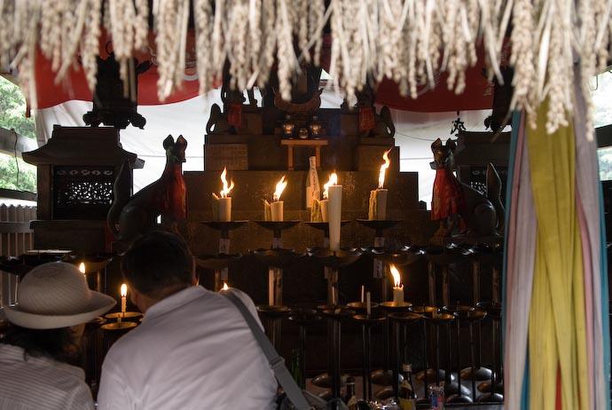 Elaborate Sub Shrine -- Kyoto, Japan -- Copyright 2008 Jeffrey Eric Francis Friedl, http://regex.info/blog/