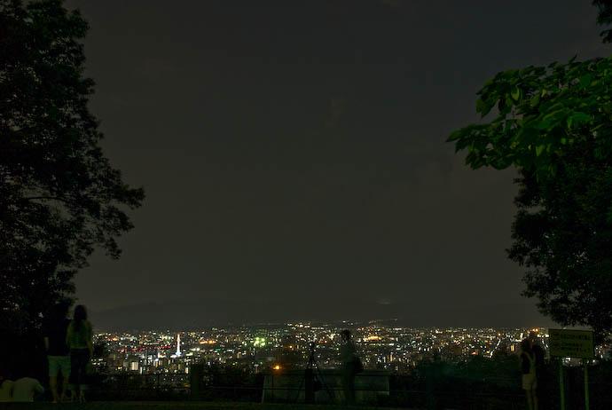 Kyoto's Shogunzuka at Night -- Kyoto, Japan -- Copyright 2008 Jeffrey Eric Francis Friedl, http://regex.info/blog/