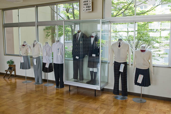 Next Year's This Year's Uniforms on display -- Uji, Kyoto, Japan -- Copyright 2008 Jeffrey Eric Francis Friedl, http://regex.info/blog/