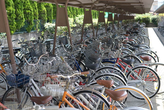 Student Parking -- Uji, Kyoto, Japan -- Copyright 2008 Jeffrey Eric Francis Friedl, http://regex.info/blog/