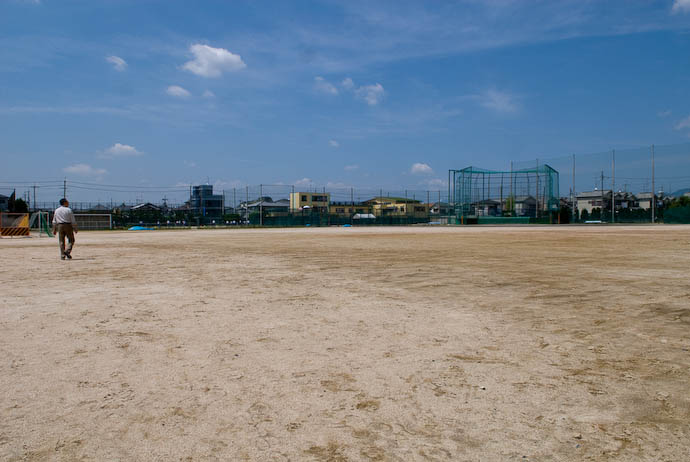 Huge Sports Ground -- Uji, Kyoto, Japan -- Copyright 2008 Jeffrey Eric Francis Friedl, http://regex.info/blog/