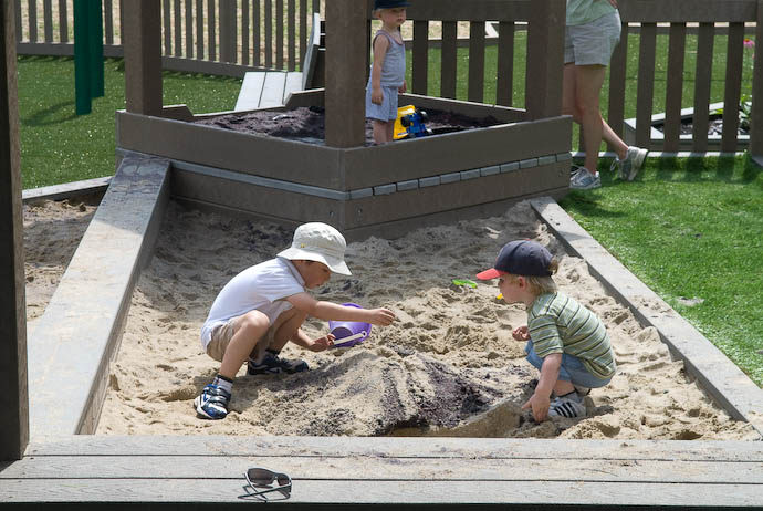 Sand Play with Cousin Josh -- Ravenna, Ohio, USA -- Copyright 2008 Jeffrey Eric Francis Friedl, http://regex.info/blog/
