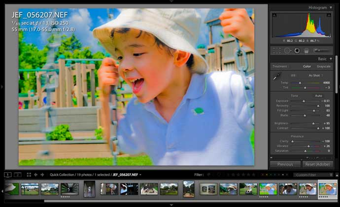 Pure Fun in Adobe Lightroom