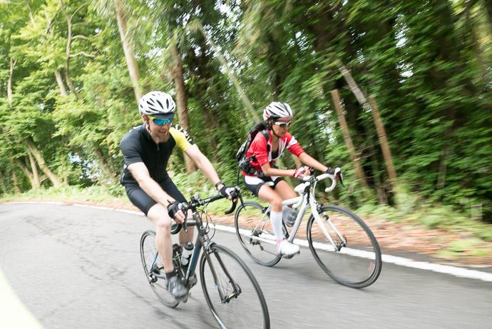 Gorm Always has a Smile 8:48 AM (+3h 21m) - 58 km (36.0 miles) taken while cycling at 21 kph (13 mph) -- Omihachiman, Shiga, Japan -- Copyright 2015 Jeffrey Friedl, http://regex.info/blog/