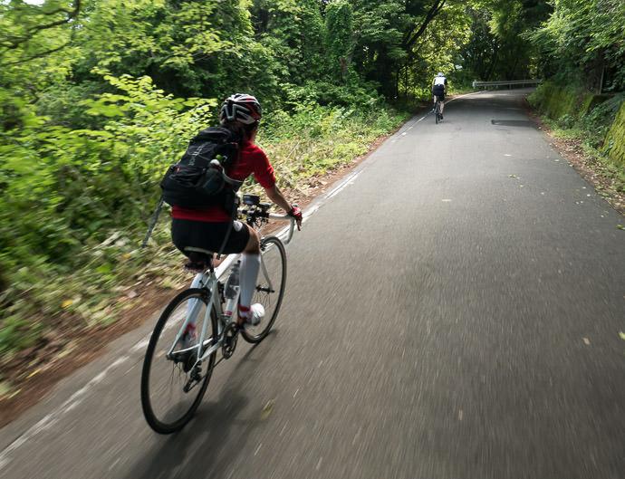 8:51 AM (+3h 24m) - 59 km (36.6 miles) taken while cycling at 21 kph (13 mph) -- Omihachiman, Shiga, Japan -- Copyright 2015 Jeffrey Friedl, http://regex.info/blog/
