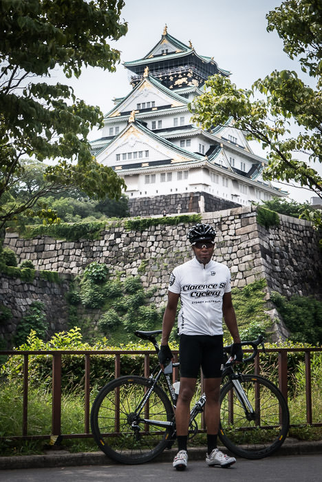 Michael Edwards -- Osaka Castle (大阪城) -- Osaka, Japan -- Copyright 2015 Jeffrey Friedl, http://regex.info/blog/