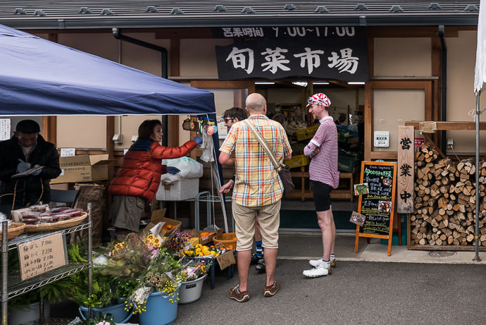 At a Farmer's Market -- Kyoto, Japan -- Copyright 2015 Jeffrey Friedl, http://regex.info/blog/
