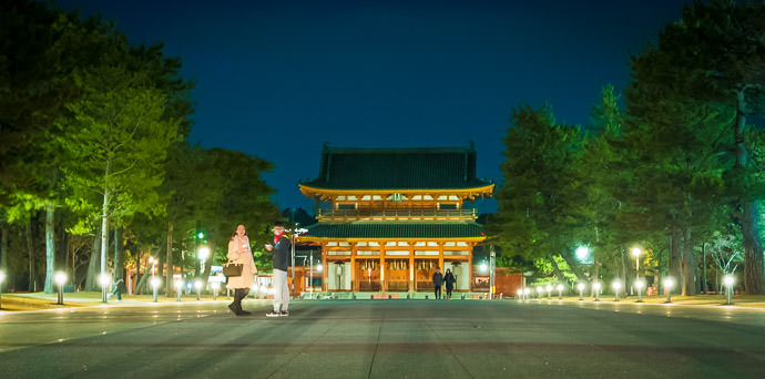 Heian Shrine (平安神宮) -- Kyoto, Japan -- Copyright 2016 Jeffrey Friedl, http://regex.info/blog/