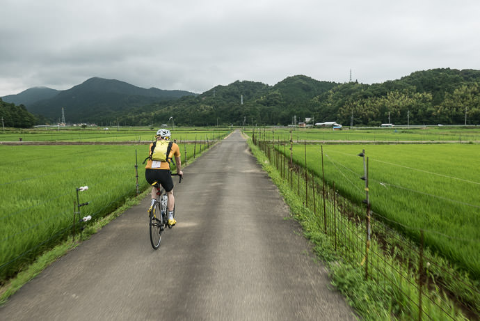 Pleasant Ruralness 1:08pm - taken while cycling at 22 kph (14 mph) -- Ōi-gun -- Kyoto, Japan -- Copyright 2016 Jeffrey Friedl, http://regex.info/blog/