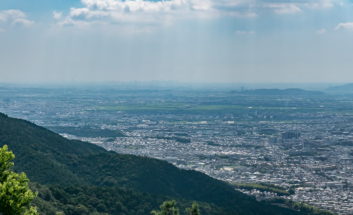 Murky Skyline off in the Distance -- Kyoto, Japan -- Copyright 2016 Jeffrey Friedl, http://regex.info/blog/ -- This photo is licensed to the public under the Creative Commons Attribution-NonCommercial 4.0 International License http://creativecommons.org/licenses/by-nc/4.0/ (non-commercial use is freely allowed if proper attribution is given, including a link back to this page on http://regex.info/ when used online)