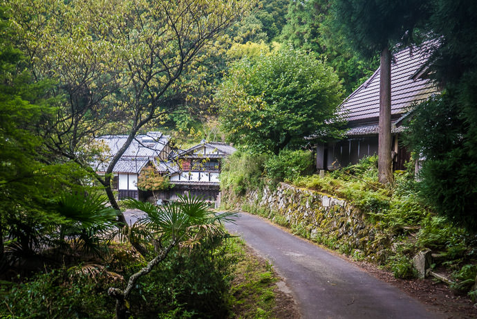 Moody, One-Lane Road -- Uji, Kyoto, Japan -- Copyright 2016 Jeffrey Friedl, http://regex.info/blog/ -- This photo is licensed to the public under the Creative Commons Attribution-NonCommercial 4.0 International License http://creativecommons.org/licenses/by-nc/4.0/ (non-commercial use is freely allowed if proper attribution is given, including a link back to this page on http://regex.info/ when used online)