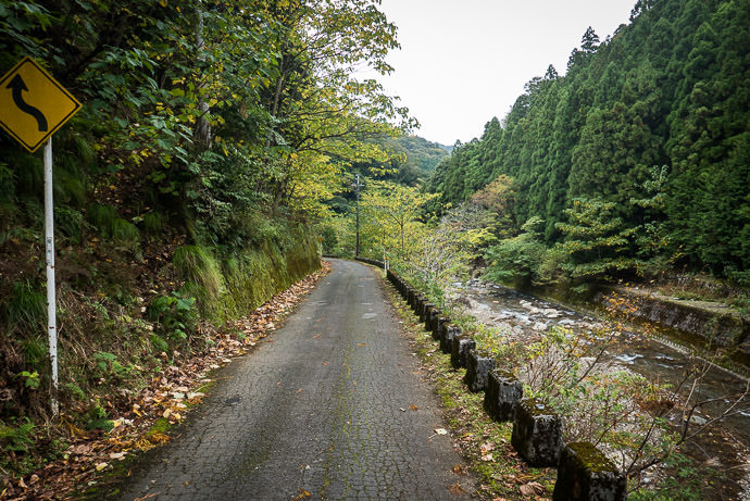 Lovely Mountain Road -- Obama, Fukui, Japan -- Copyright 2016 Jeffrey Friedl, http://regex.info/blog/ -- This photo is licensed to the public under the Creative Commons Attribution-NonCommercial 4.0 International License http://creativecommons.org/licenses/by-nc/4.0/ (non-commercial use is freely allowed if proper attribution is given, including a link back to this page on http://regex.info/ when used online)