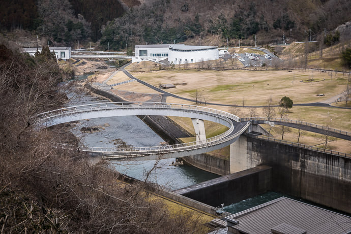 """"""" Hiyoshi Velodrom """" four laps is about a kilometer (I intended to do this after lunch, but by then I'd forgotten) -- Hiyoshi Dam (日吉ダム) -- Nantan, Kyoto, Japan -- Copyright 2017 Jeffrey Friedl, http://regex.info/blog/ -- This photo is licensed to the public under the Creative Commons Attribution-NonCommercial 4.0 International License http://creativecommons.org/licenses/by-nc/4.0/ (non-commercial use is freely allowed if proper attribution is given, including a link back to this page on http://regex.info/ when used online)"""