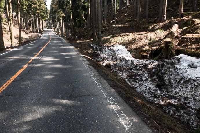 A Not -so- Chilly 15 °C (59F) 10:12 AM (from start: 2h 13m / 48 km / 29.7 miles) -- Takashima, Shiga, Japan -- Copyright 2017 Jeffrey Friedl, http://regex.info/blog/