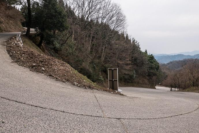 Steeper Section 3:44 PM (from start: 7h 45m / 153 km / 95.0 miles) -- Nariai-ji Temple (成相寺) -- Miyazu, Kyoto, Japan -- Copyright 2017 Jeffrey Friedl, http://regex.info/blog/