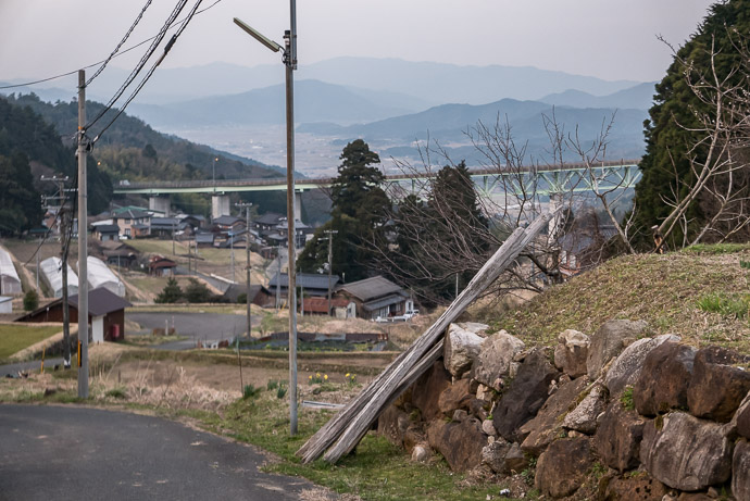 Looking Back Where I Came From 6:14 PM (from start: 10h 15m / 186 km / 115.5 miles) -- Yosa-gun -- Yosa-gun, Kyoto, Japan -- Copyright 2017 Jeffrey Friedl, http://regex.info/blog/